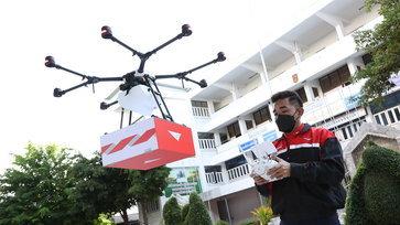 """""""รมว.ดศ.- ไปรษณีย์ไทย"""" นำเทคโนโลยีดิจิทัล ขับเคลื่อนด้านสาธารณสุขให้คนไทยมีคุณภาพชีวิตที่ดีไร้ขีด"""