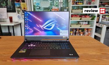รีวิว ROG Strix G17 (GL743QE-HX088T) Notebook เล่นเกมจอใหญ่ยักษ์ สเปกแรงสุดๆ