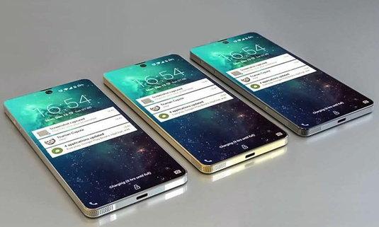 สิทธิบัตร Samsung ล่าสุด เผยสมาร์ทโฟนจอเต็ม พร้อมติ่ง และสแกนนิ้วบนหน้าจอ