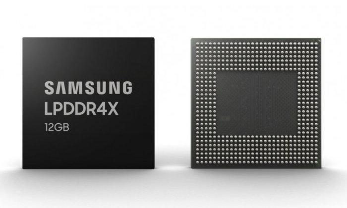 Samsung เริ่มผลิต RAM LDDR4 ขนาด 12GB สำหรับมือถือ