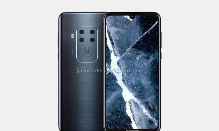 ชมภาพเรนเดอร์สมาร์ตโฟน Motorola ล่าสุด เผยอาจกำลังพัฒนา กล้องหลัง 4 ตัว
