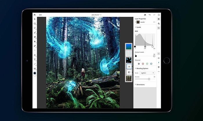 Adobe เปิดให้ลงทะเบียนลองใช้ Photoshop For iPad เวอร์ชั่น Beta ก่อนเปิดตัวของจริง
