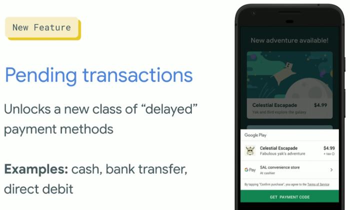 """Google เปิดตัวฟีเจอร์ใหม่ ซื้อแอปบน Play Store ได้ด้วย """"เงินสด"""""""