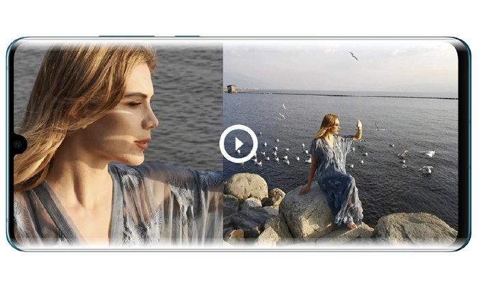 สิ้นสุดการรอคอย! ฟีเจอร์ Dual-view video ใน HUAWEI P30 และ P30 Pro ถ่ายวิดีโอสองมุมมองในครั้งเดียว