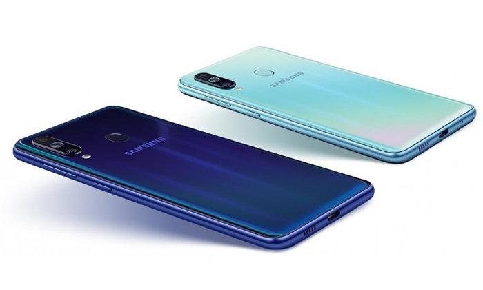 Samsung Galaxy M40 มือถือเจาะรู กล้องหลัง 3 ตัว พร้อมขุมพลัง Snapdragon 675 ในราคาไม่แรง