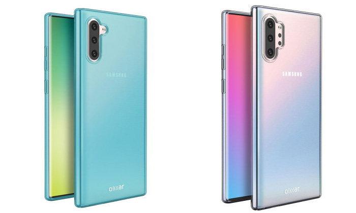 ชมกันอีกครั้ง! เคสของSamsung Galaxy Note 10และNote 10 Proของจริงก่อนเปิดตัว