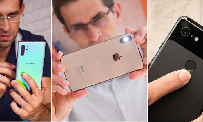 เทียบกล้อง Samsung Galaxy Note 10+, Pixel 3 และ iPhone XS Max
