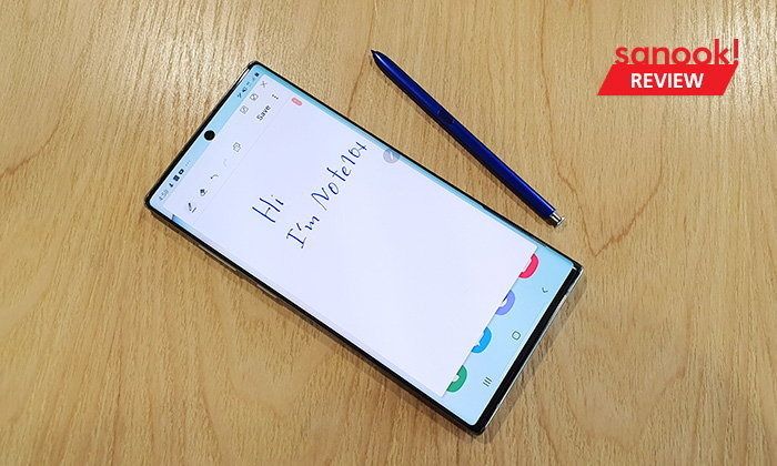 รีวิว Samsung Galaxy Note 10+ ซูเปอร์มือถือ ที่มีความสามารถมากขึ้น กับปากกา โบกนิด...สะบัดหน่อย