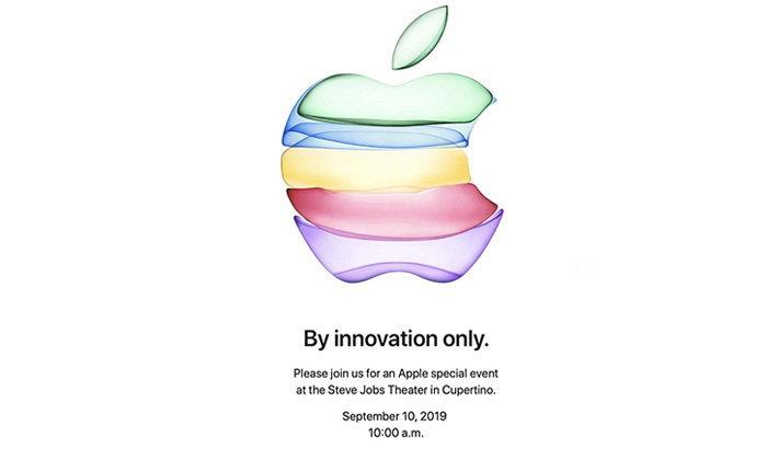 Appleร่อนบัตรเชิญงานเปิดตัวSpecial Event 2019เจอกัน10กันยายนพร้อมiPhoneใหม่