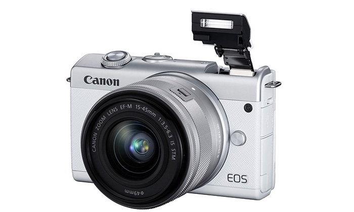 CanonเปิดตัวEOS M200กล้องMirorlessที่สามารถถ่ายวิดีโอ4Kและมีระบบตรวจจับดวงตาได้