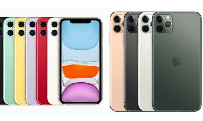 เปิดราคาiPhone 11,iPhone11 proและiPhone 11ProMaxเครื่องเปล่าก่อนขายในเมืองไทยสัปดาห์หน้า