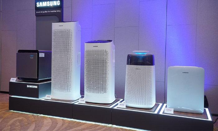 ซัมซุงเปิดตัวเครื่องฟอกอากาศรุ่นใหม่ มาพร้อมเทคโนโลยีฟอกอากาศจับฝุ่นอนุภาคเล็กถึง PM 0.3