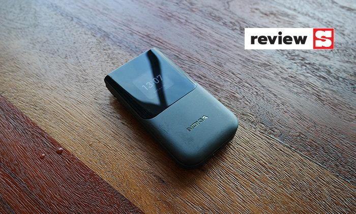 [รีวิว] Nokia 2720 Flipมือถือฝาพับจอใหญ่ปุ่มกดชัดเหมาะกับทุกคนในงบไม่ถึง3พันบาท