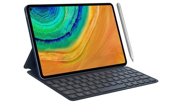 หลุดภาพเรนเดอร์ Huawei MatePad Pro ล่าสุด อาจมาพร้อมขอบจอบาง, กล้องหน้าเจาะรู, รองรับปากกา Stylus