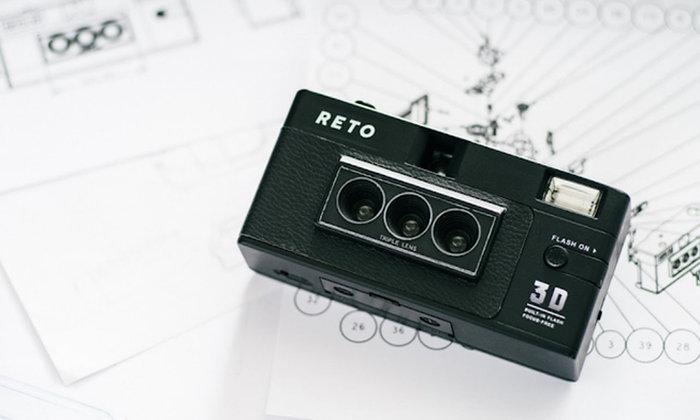กล้องฟิล์มให้ภาพ 3 มิติ ผสานความโมเดิร์นและเรโทรอย่างสนุกสาน ด้วย RETO 3D