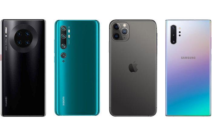 DxOMark จัดอันดับสมาร์ตโฟนกล้องดีที่สุดในแต่ละสายงาน!