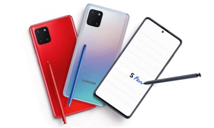 เปิดรายละเอียดSamsung Galaxy Note 10 Liteฉบับสมบูรณ์ก่อนเปิดตัว