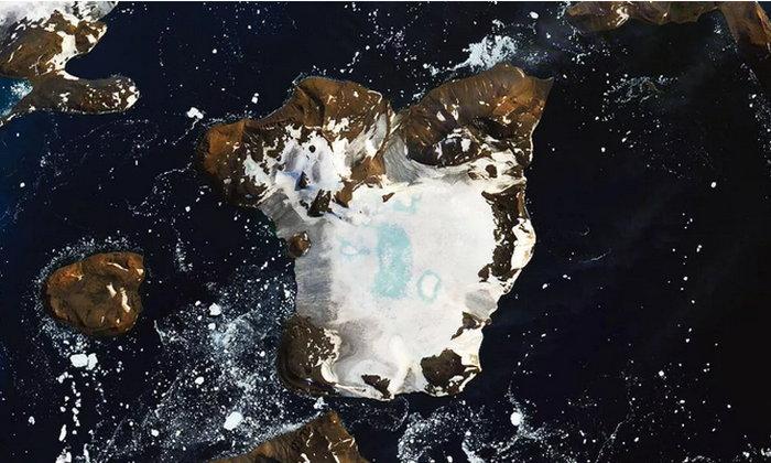 น่าห่วง! ดาวเทียมของ NASA เผยภาพน้ำแข็งขั้วโลกใต้ละลายเหตุคลื่นความร้อนเมื่อต้นเดือน