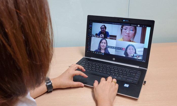 Microsoft ภูมิใจ ช่วยคนไทยและองค์กรธุรกิจ Work  and  Learn From Home