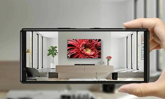 Sony เผยโปรแกรม AR Apps แสดงการวางทีวีในห้องของคุณว่าพอดีหรือไม่