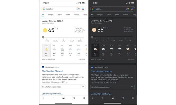 มาแล้วTheme Dark ModeบนGoogle Searchพร้อมใช้งานทั้งiOSและAndroid