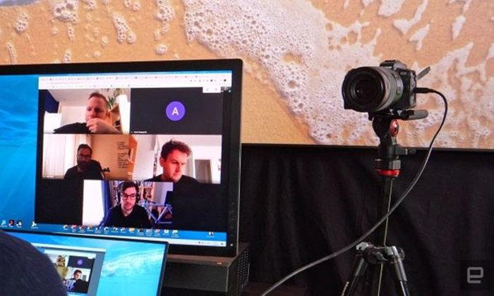 กล้อง Panasonic Mirrorless ใช้เป็นเว็บแคมให้ภาพสวยคมชัดได้โดยเชื่อมต่อผ่าน USB
