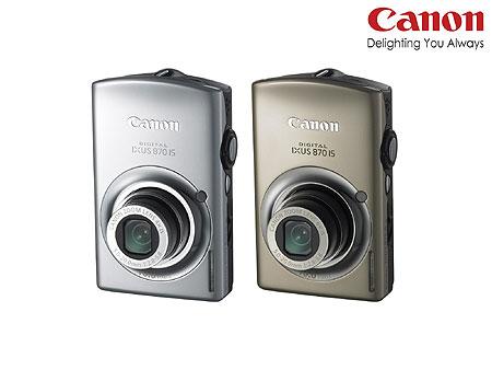 CANON IXUS 870IS
