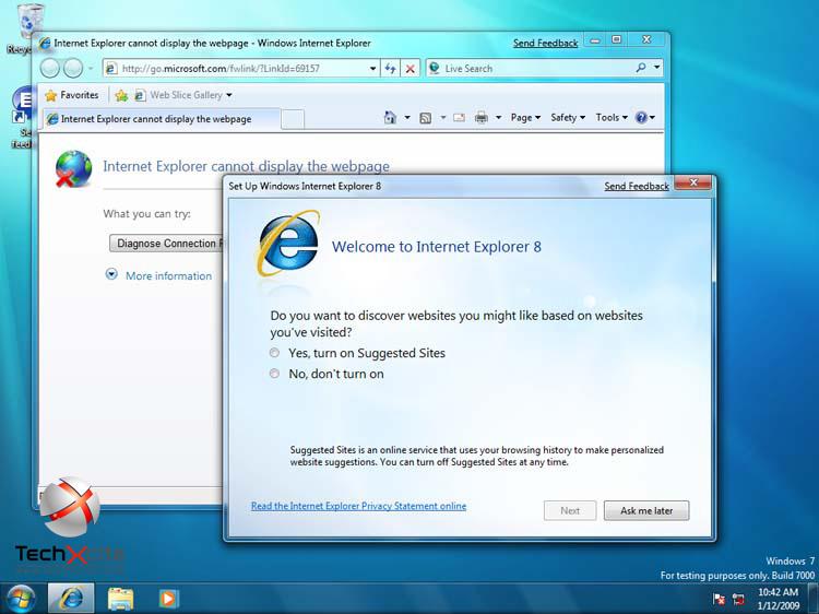 Windows 7 Build 7000