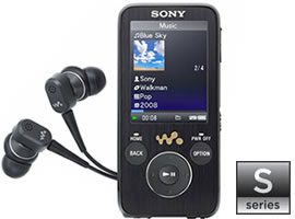 WALKMAN Video MP3 NWZ-S739F/B