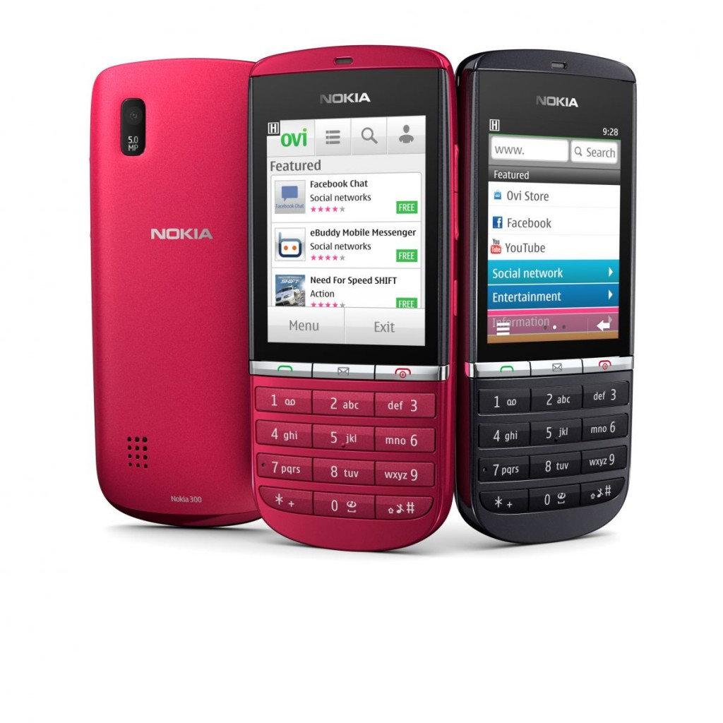 Nokia เปิดตัวสมาร์ทโฟน Series 40 Asha 4 รุ่น 303,300,201 และ 200