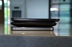 thickness comparison