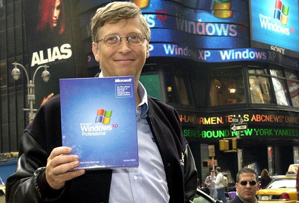 Bill Gates 2001