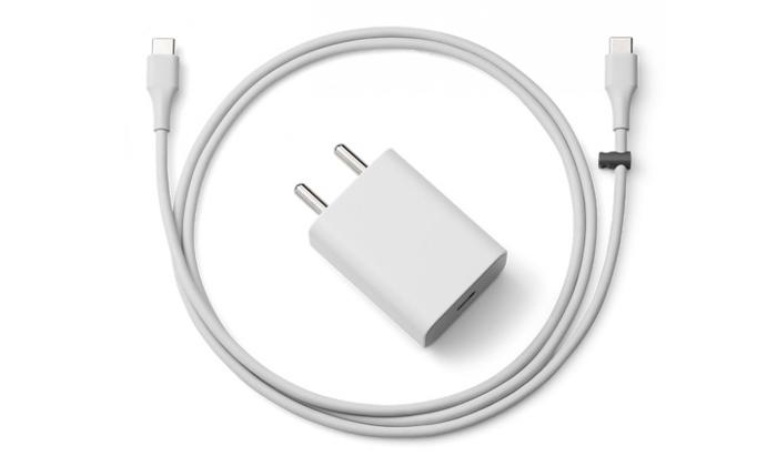 Google 18W USB-C Power Adapter White