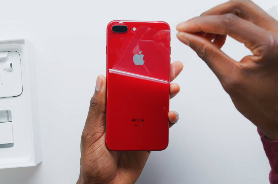 Iphone 8 Plus Red Youtuber 003