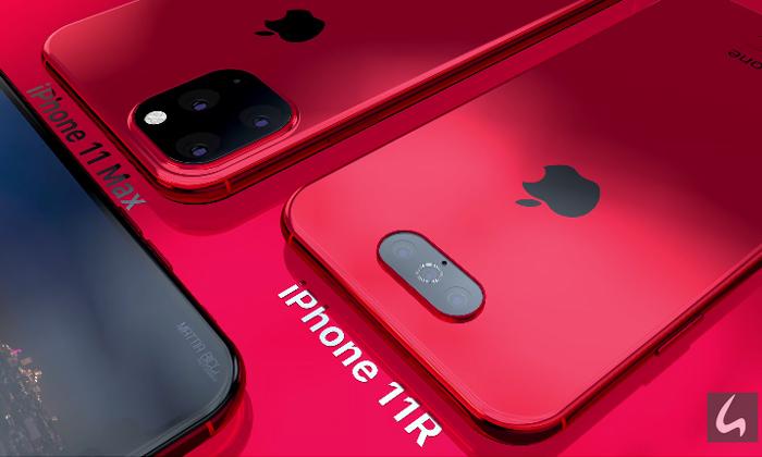 ชมภาพ Render iPhone 11Max และ iPhone 11R สีแดง สุดสวย