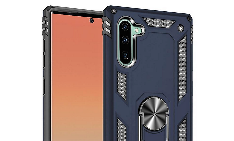 หลุดภาพเรนเดอร์เคส Samsung Galaxy Note 10 : เผยตำแหน่งติดตั้งกล้องหน้า-หลังใหม่
