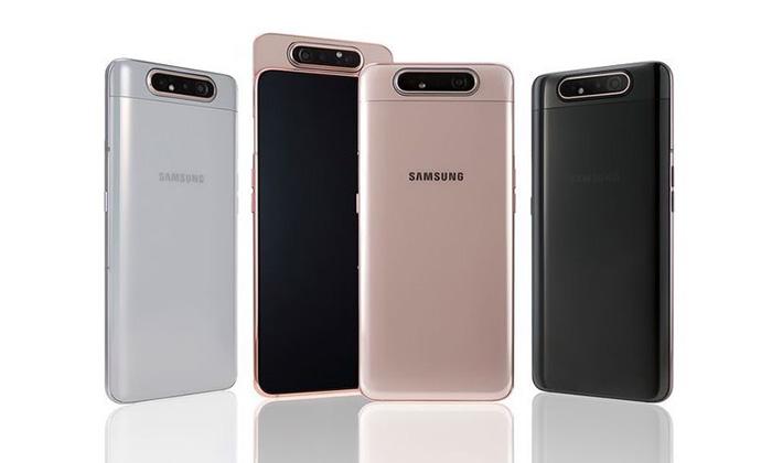 SamsungเผยราคาGalaxy A80มือถือกล้องหมุนได้ในประเทศไทย21,990บาท