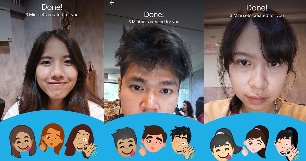 Google อัปเดต Gboard ให้สร้างภาพสติกเกอร์หน้าตัวเองได้ไม่ซ้ำใครทั้งบน iOS และ Android