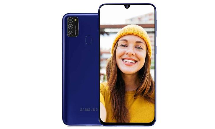 Samsung Galaxy M21 จอใหญ่ กล้อง 3 เลนส์ 48MP แบตฯ 6000 mAh เตรียมขายไทยเร็วๆ นี้