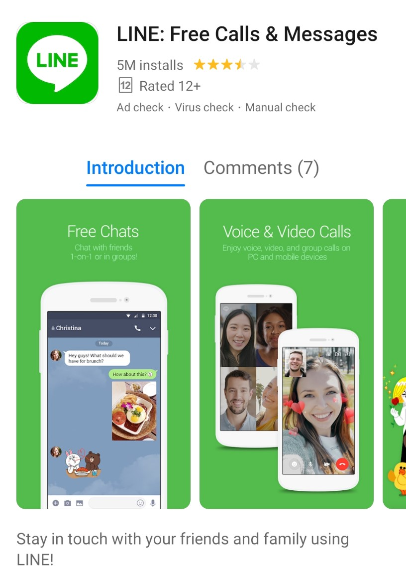 lineavailableonappgallery