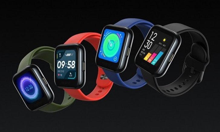 เผยภาพร่างของ2 Smart Watchจากrealmeทรงเหลี่ยมและมีหน้าตาสวยงามคาดว่าเปิดตัวเร็วๆนี้
