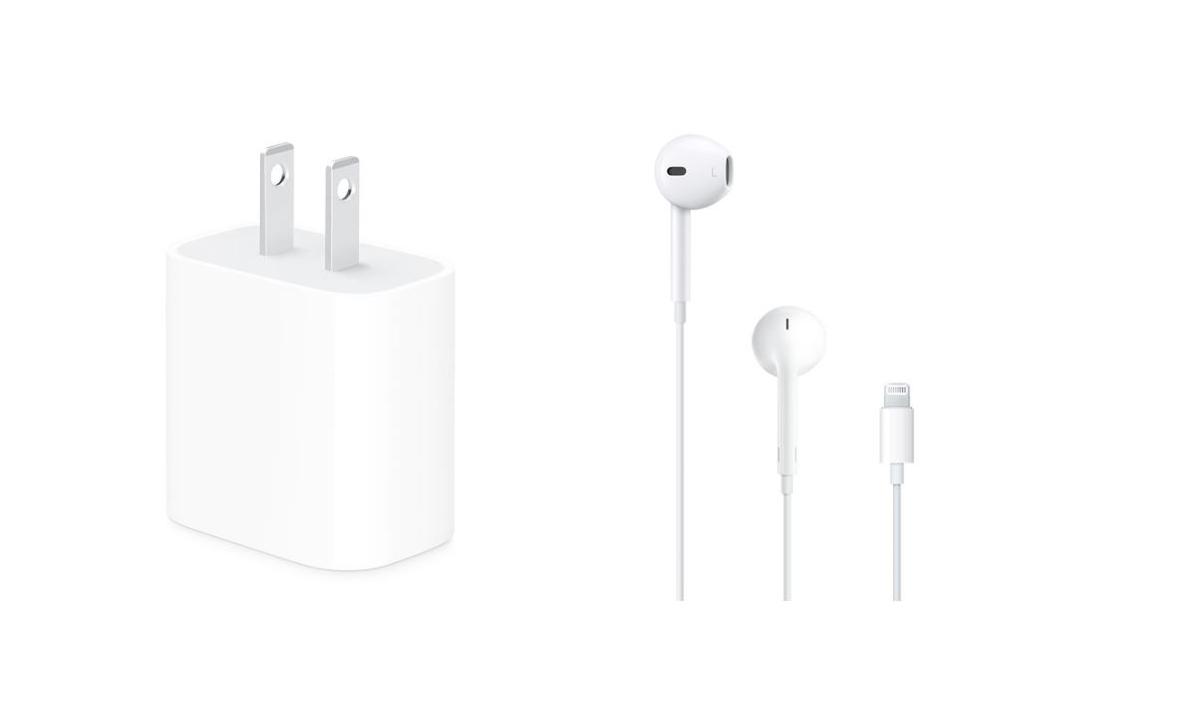 เปิดราคาหูฟัง EarPods และ Adapter ที่ไม่ได้แถมมาในกล่อง iPhone 12 ราคาเริ่มต้น 690 บาท
