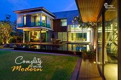 แต่งบ้านโมเดิร์นแบบสมบูรณ์ Complete with Modern