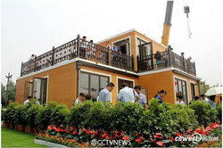 จีนสร้างบ้าน 2 ชั้นจากเครื่องพิมพ์ 3D ประกอบเป็นบ้านแค่ 3 ชั่วโมง