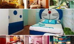 18 แบบห้องนอนลายการ์ตูนสวยๆ