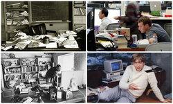"""บุคคลประสบความสำเร็จระดับโลก แต่ """"โต๊ะทำงาน"""" รกโคตร"""