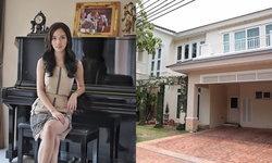 """เปิดบ้าน """"ดาต้า ดรัลชรัส"""" นักแสดง นักร้องสาวคนสวยที่กำลังจะสละโสด"""
