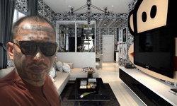 """""""บ้านเก่ง ลายพราง"""" ออกแบบใหม่ ติดวอลล์เปเปอร์ลายพอลแฟรงค์ทั้งหลัง"""