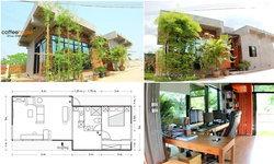 """รีวิวบ้านสไตล์ลอฟท์ """"Coffee House"""" นี่บ้านนะไม่ใช่ร้านกาแฟ!! ในงบ 660,000 บาท"""