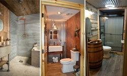 15 ไอเดียการตกแต่งห้องน้ำด้วยสังกะสีเป็นห้องน้ำสุดสวย เท่ๆ